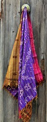 Indian Vintage Kantha Silk Stole