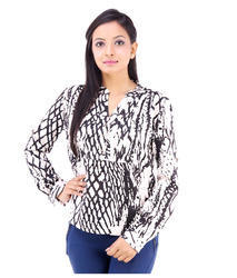 Inblue Fashions Casual Full Sleeve Printed Women's Top