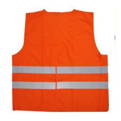 Fluorescent Orange Reflective Jacket