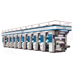 6 Colour Rotogravure Printing Machine