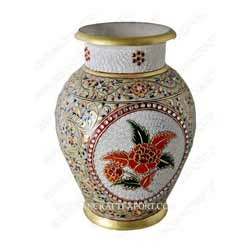 225 & Decorative Marble Flower Pot | Indian Crafts | Exporter in ...
