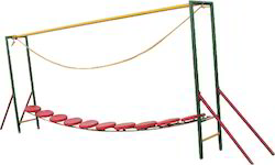 Balancing Bridge Playground Equipment