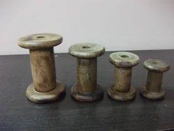 Wooden Bobbins