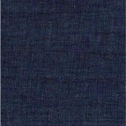 5.5 Oz Dark Indigo Linen Denim Fabric