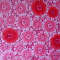 Printed Bright Velour Fabrics