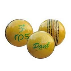 Yellow Leather Ball