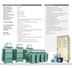 Three Phase Digital controller Servo Voltage Stabilizer, 340v - 480v, Capacity: 5 Kva To 2000 Kva