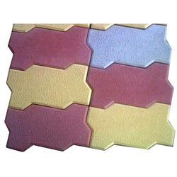 Zigzag Unipaver Cement Paver Block, Thickness: 60mm To 80mm