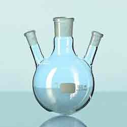 Parallel Three Neck Flask