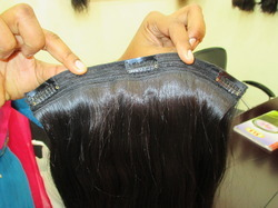 Clip In Natural Color Hair
