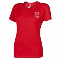 Red Women T Shirt