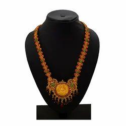 Lakshmi Haram Gold Plated Jewelry