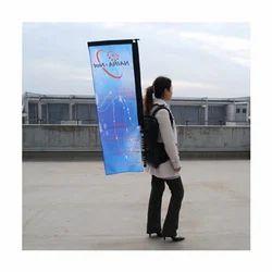 PVC Human Banner, For Advertising, Shape: Rectangular