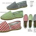 Basic Stripe & Printed Shoes