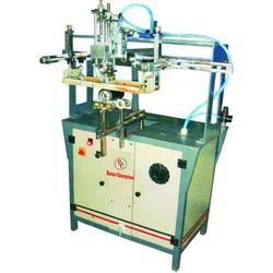 Semi Auto Round Screen Printing Machine