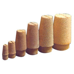 Sintered Bronze Pneumatic Silencer