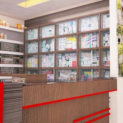 Shop Designer | Medical Shop Interior Commercial Interior Designer Vcare