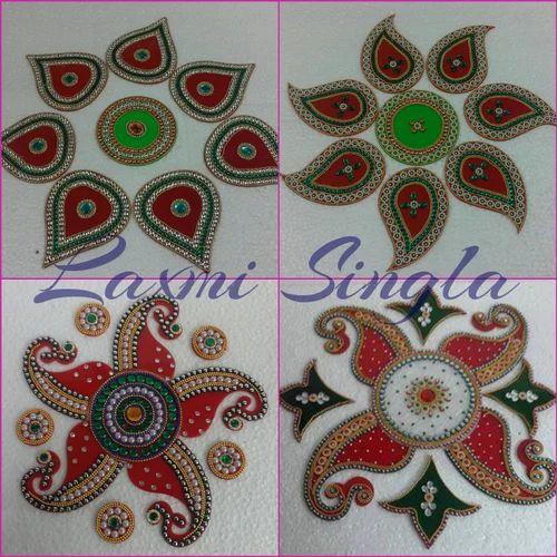 Rangoli Design र ग ल ड ज इन Laxmi Art Craft Delhi
