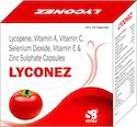 Lycopene,Vitamin A & C ,E Selenium Dioxide, & ZINC Sulphate