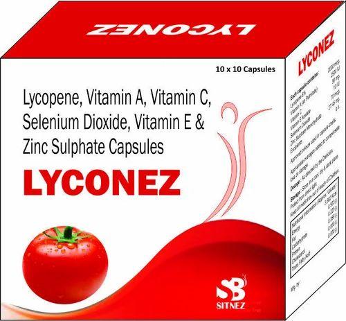 Lycopene Vitamin A C E Selenium Dioxide Zinc Sulphate Sitnez