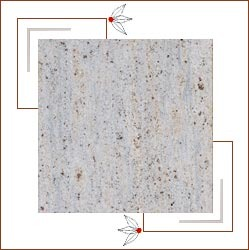 Kashmir White Granite Slabs
