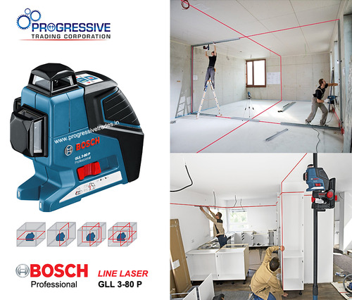 bosch gll 3 80 p professional line laser. Black Bedroom Furniture Sets. Home Design Ideas