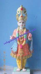 Religious Marble Swaminarayan Statue