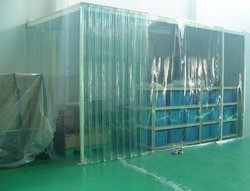 Dustproof Clear PVC Strip Curtain