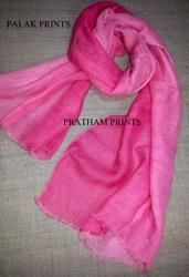 Linen Ombre Dyed Stole