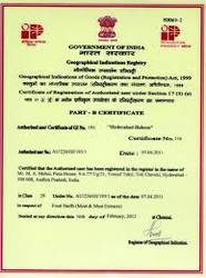 Geographical Indication Registration