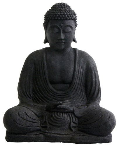 Buddha Amp Lady Statues Black Stone Buddha Statues