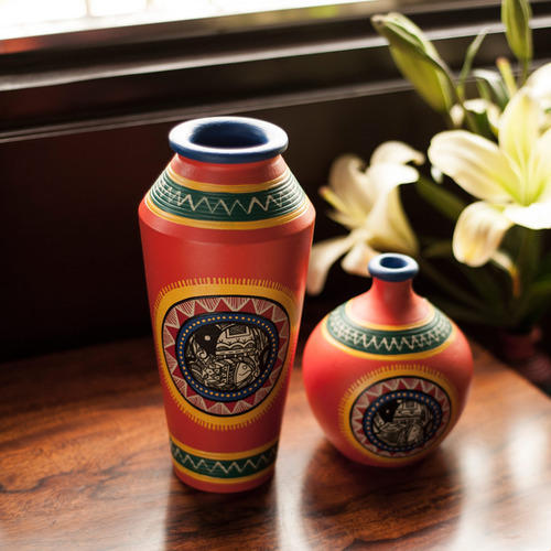 Vases And Pots In Terracotta Home Decor Items At Rs 959 Pieces