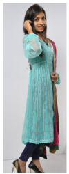 Chikan Embroidery Suit