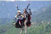 Paragliding, Hiking, Camping Day1