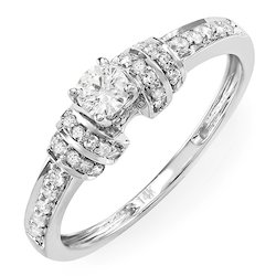 Designer Real Diamond Wedding Ring
