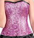 Pink Lurex Sweatheart Corset