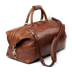 Leather Duffle Bag at Best Price in India 8941ce8f135db