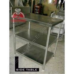 Stainless Steel Side Table