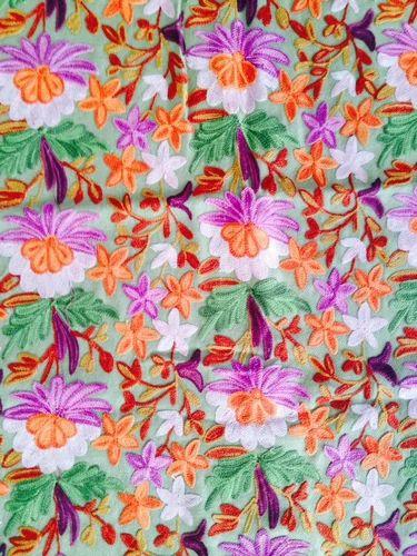 Computerized Embroidery Job Work Aari Crewel Embroidery