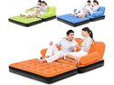 Orange And Green Multifunctional Air Bed Sofa