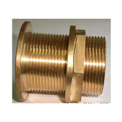 Brass Tank Connector Flanged Type