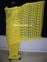 Chikan Georgette Saree