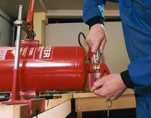 Refilling of Fire Extinguishers
