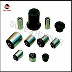 Custom Designed Rubber to Metal Bonded Bushes