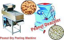 Peanut Decoter Machine