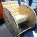 Wooden Bobbin Reel