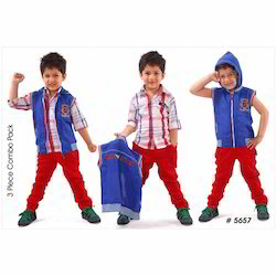 3 Piece Kids Baba Suit