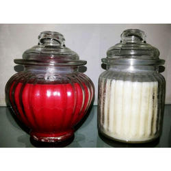 Pumpkin Jar Candles