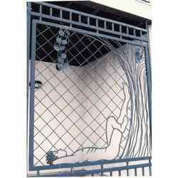 Window grills in bengaluru karnataka india indiamart for Balcony safety grill designs