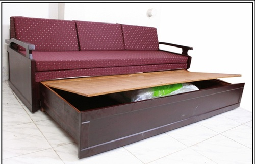 Wooden sofa bed designs india for Sofa bed india